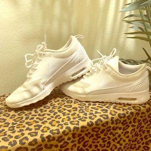 White Nike Thea's